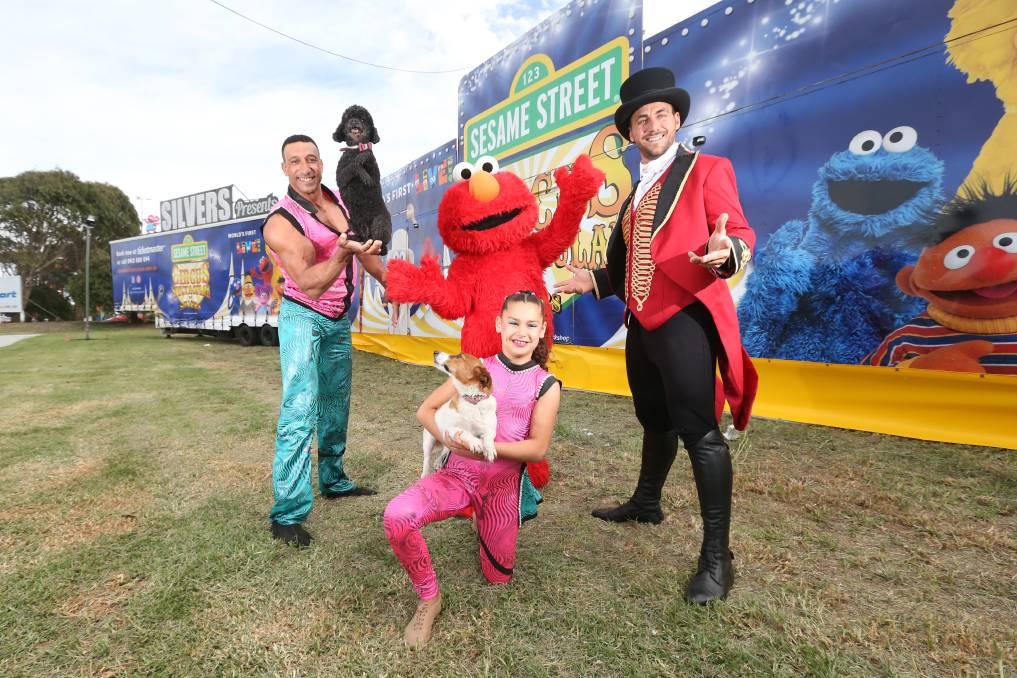 sesame street circus spectacular tour