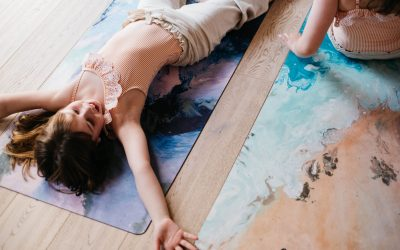 The Art of Zen: KIDS YOGA MATS by Emilia Rose