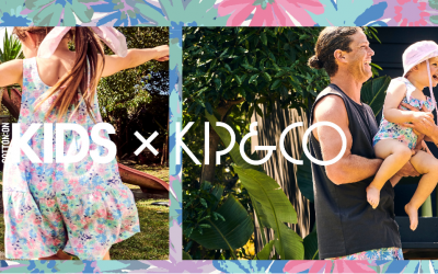 Say Hello to summer with a new season Kip&Co x Cotton On Collab!