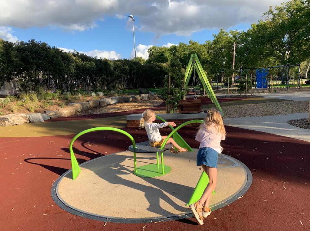 quentin kenihan playspace rymill park
