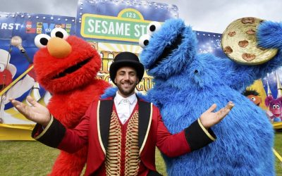 WIN: 1 of 2 RINGSIDE Family Passes to Sesame Street's Circus Spectacular Tour!