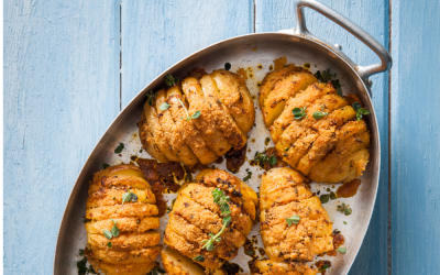 RECIPE: Spicy Hasselback Potatoes