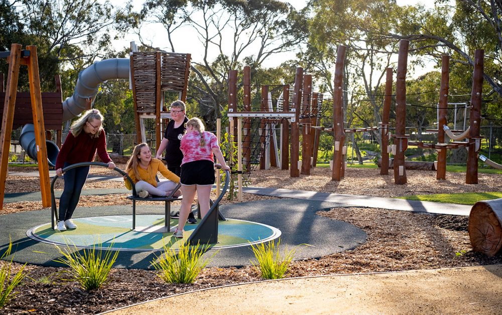 wilfred taylor reserve nature play adelaide