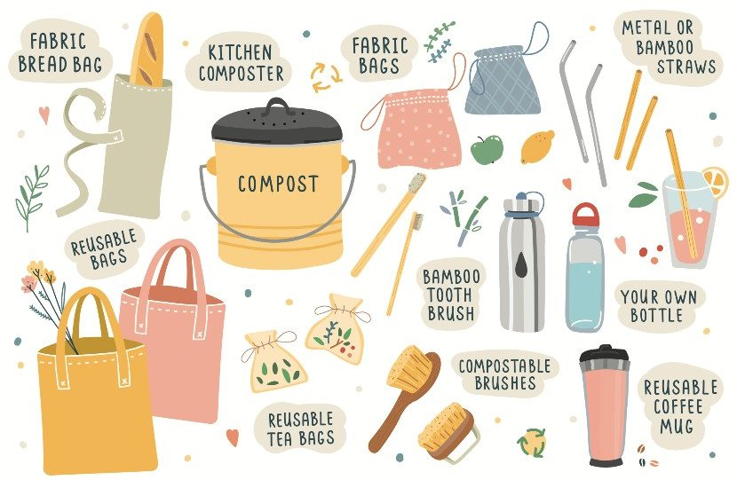 10 Tips towards becoming a zero waste family