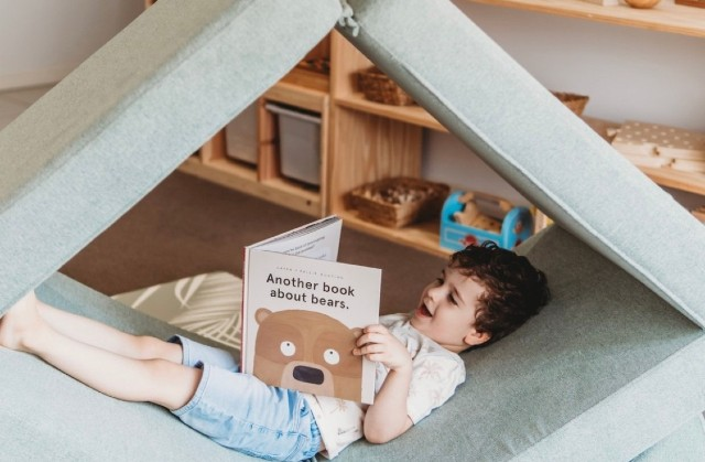 MY NOOK: The modular play sofa taking cubby forts to the next level