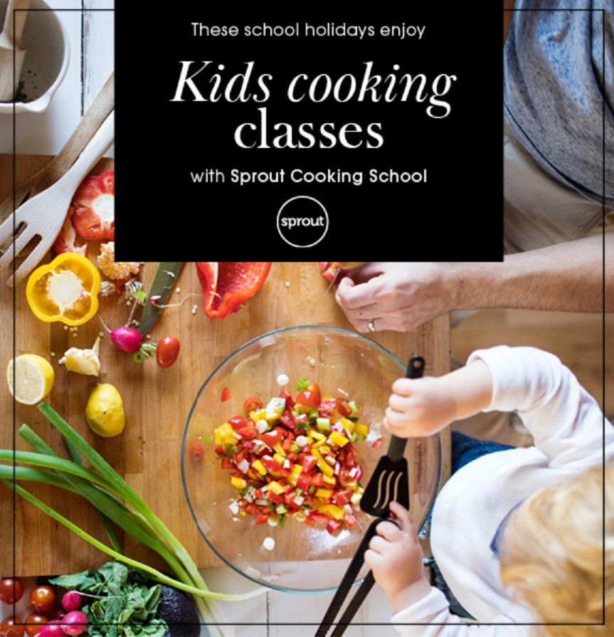 sprout cooking classes at Burnside