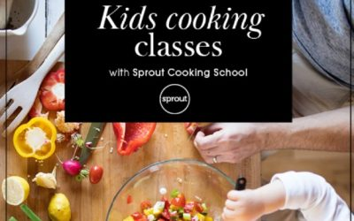 Join Sprout for kids cooking classes these school holidays at Burnside Village