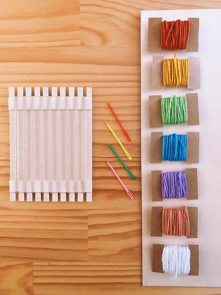 kids weaving kits