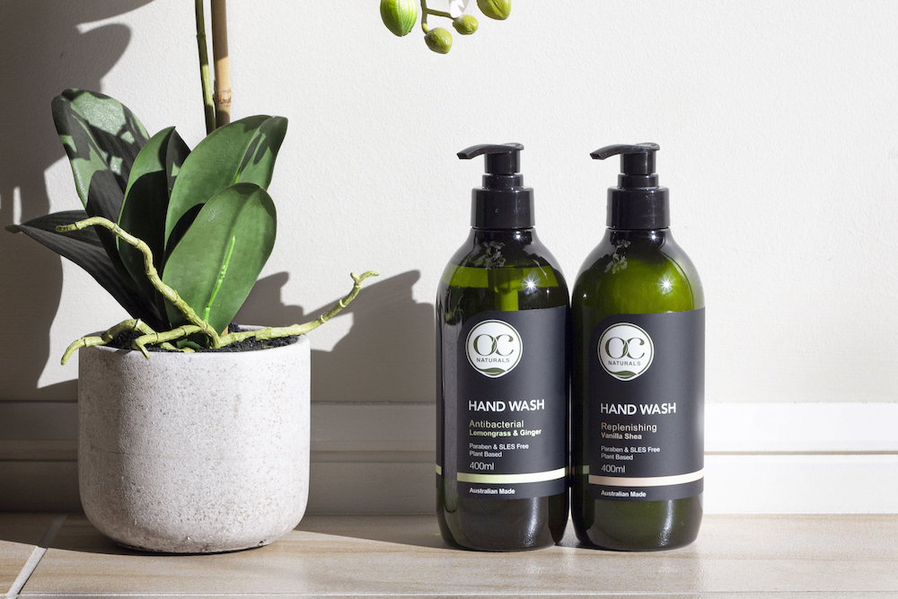 Win: 1 of 5 OC Naturals Hand and Body Wash prize packs