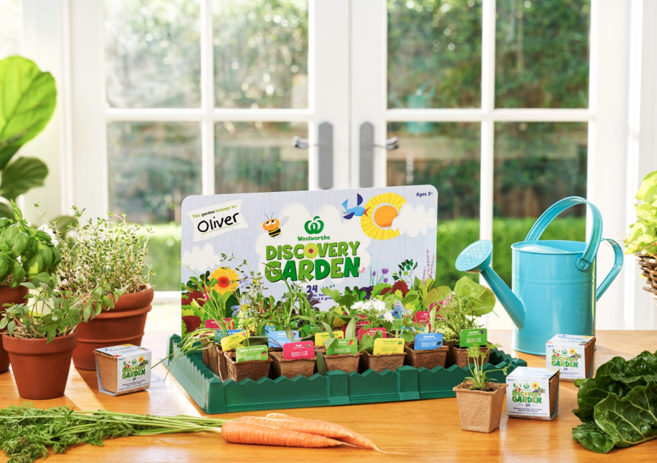 Woolworths launch Discovery Garden collectible seedlings kits for kids!