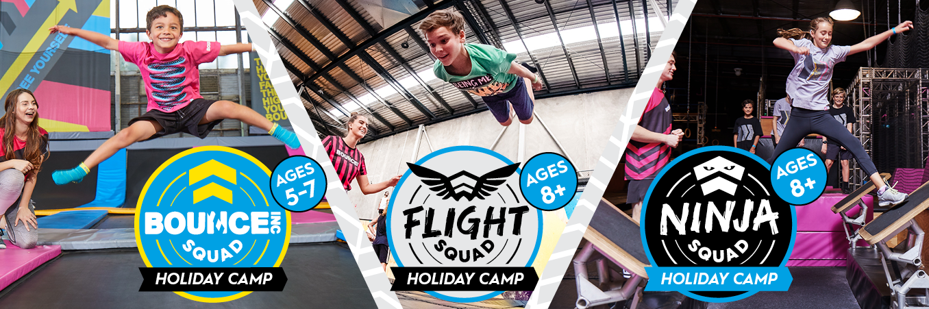 Bounce School holiday camps