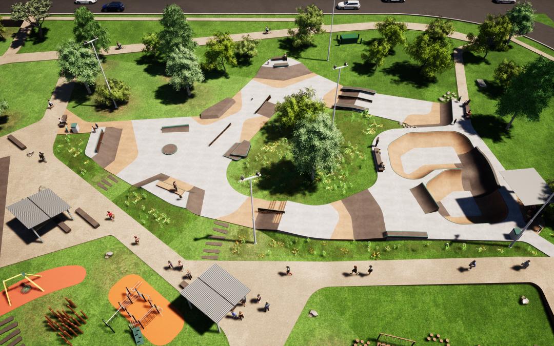 New Morton Road skate park now open