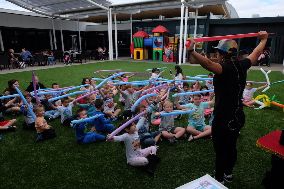 balloon workshop kids party adelaide