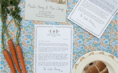Bunny Post: Personalised letters from the Easter Bunny
