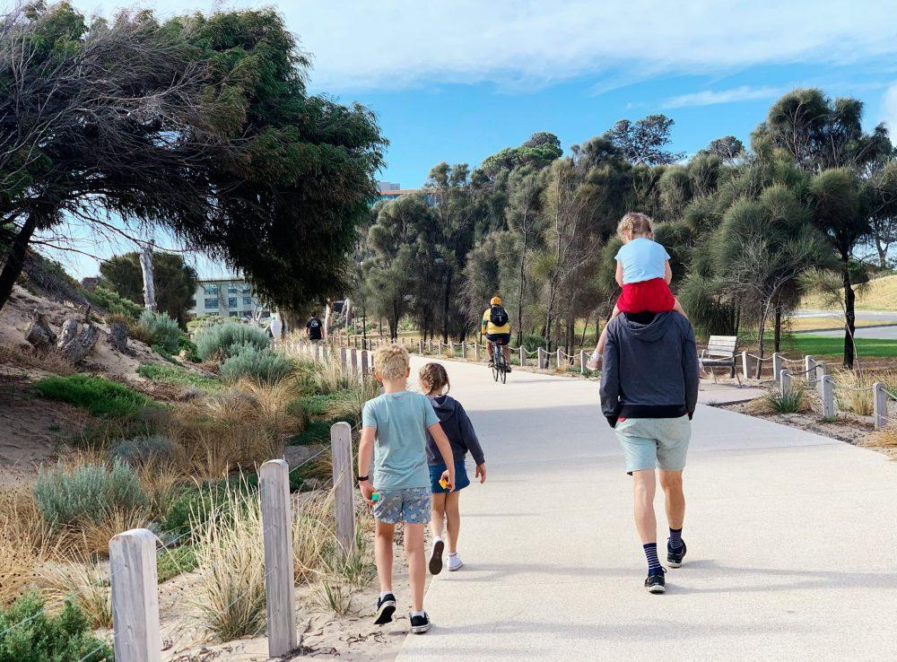 minda coast park walk