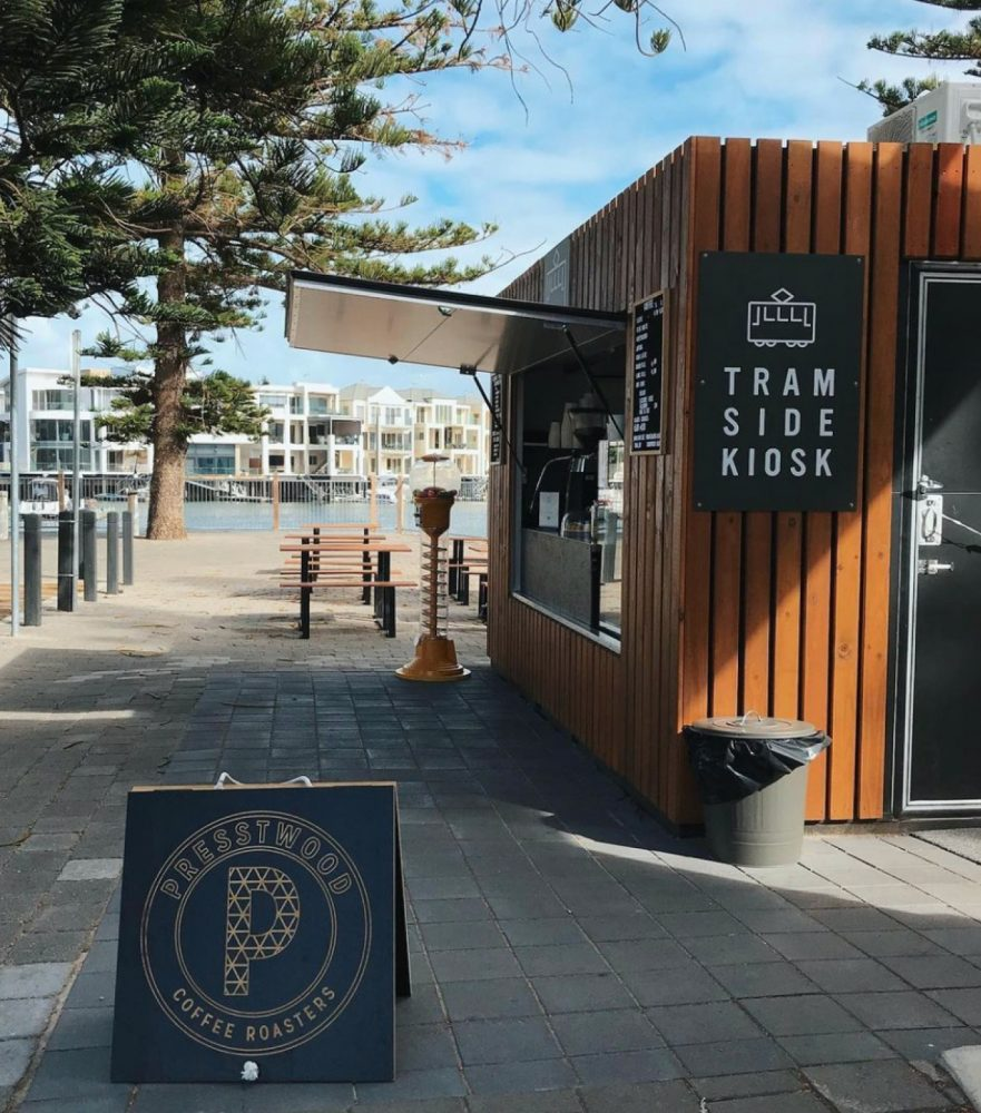 tram side kiosk