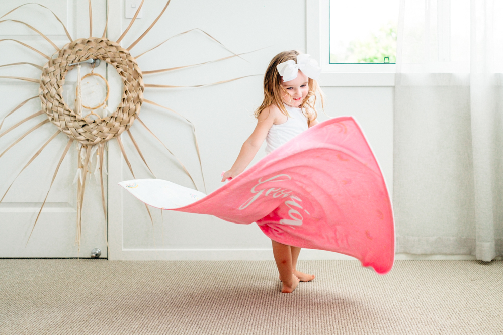 WIN: A personalised Blankids throw blanket