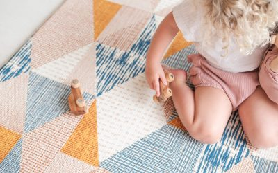 Rugabub designer play mats: Safe play, without compromise
