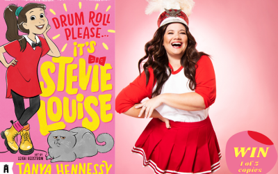 WIN: 1 of 5 copies of Drum Roll Please, It's Stevie Louise