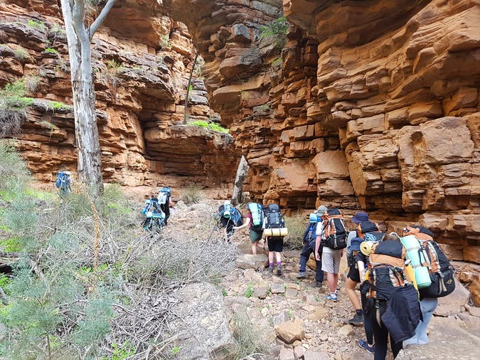 Wilderness escape school holiday camps