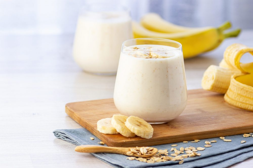 nutreat banana smoothie