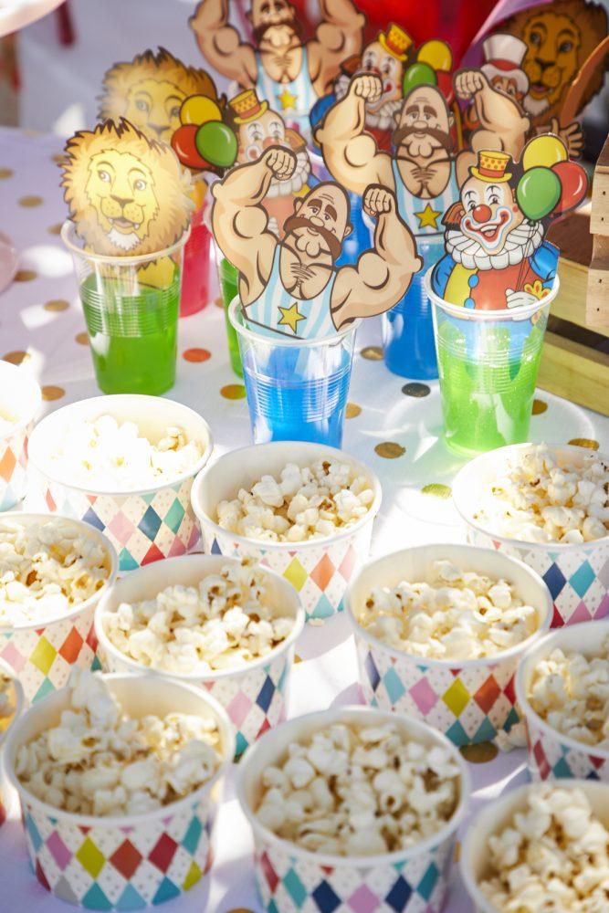 kids party theme carnival