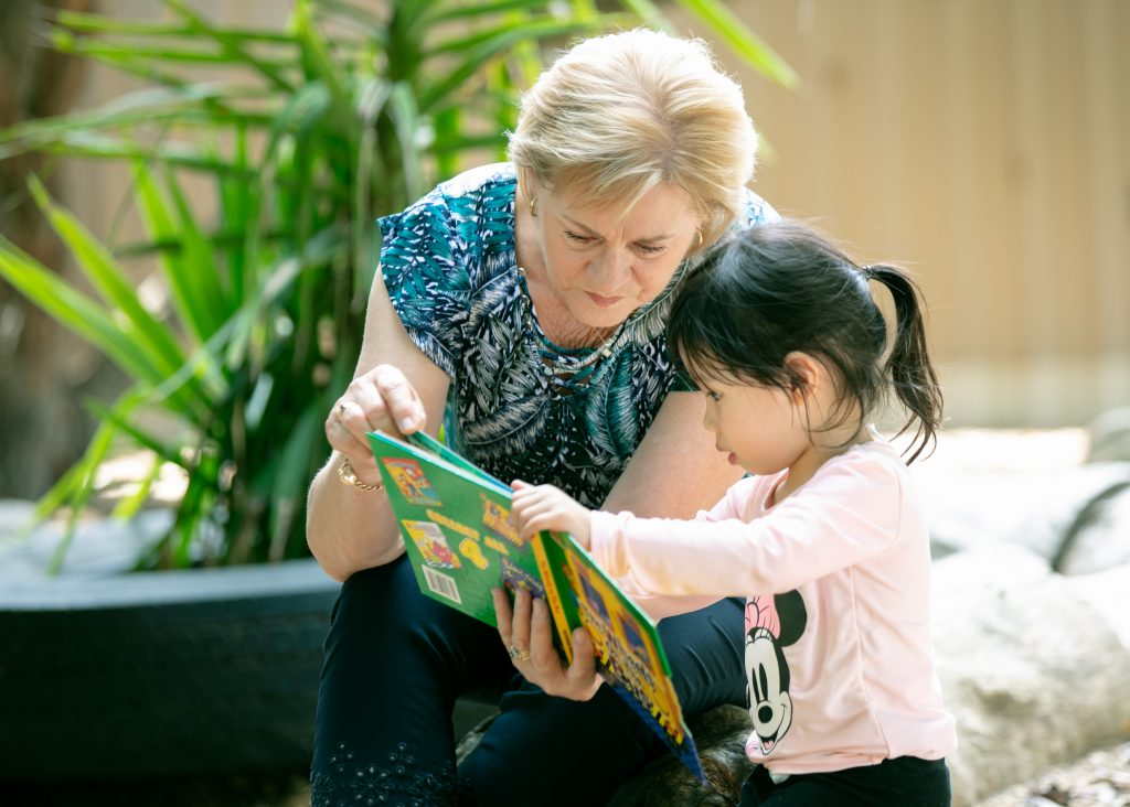 echoes montessori intergenerational
