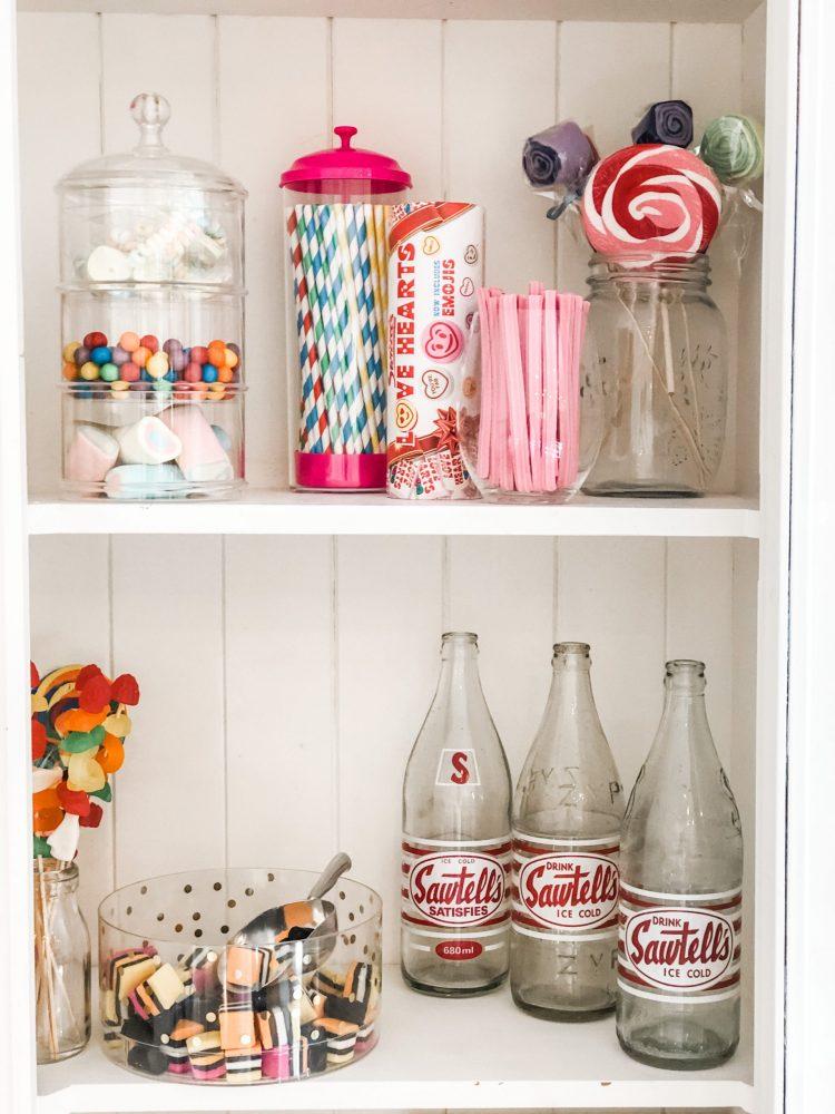 kids party theme candy shop