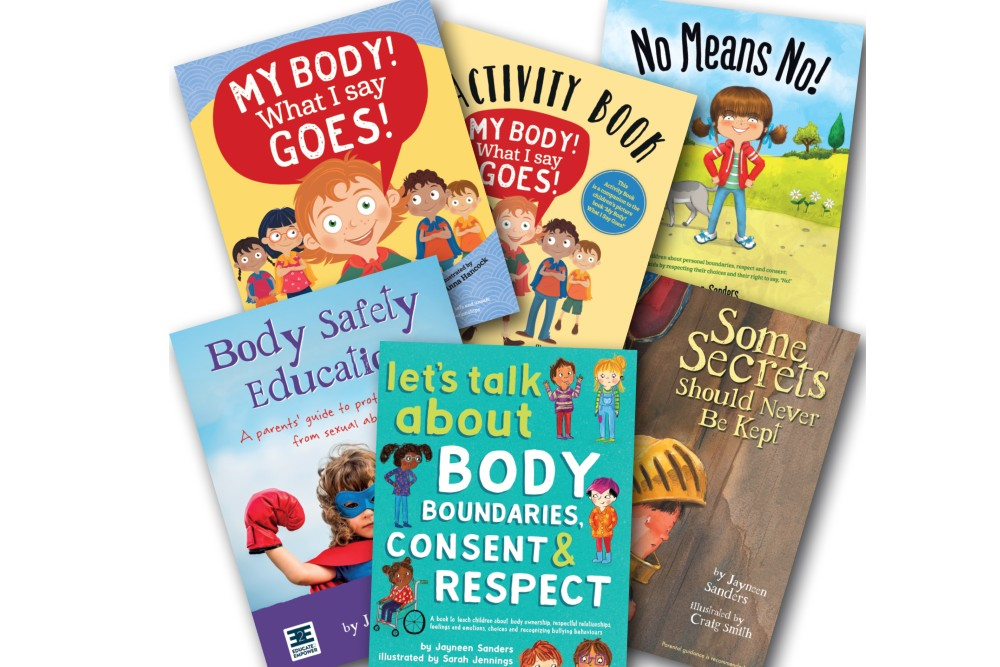 WIN: A kids body safety and consent book bundle