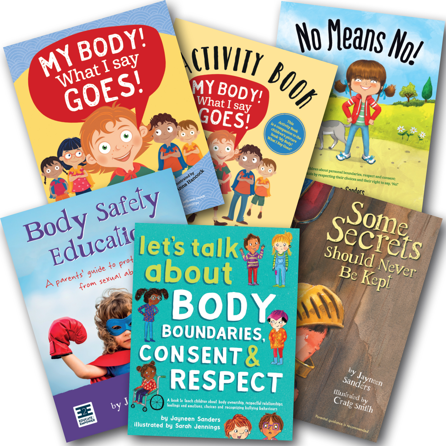 kids consent book bundle