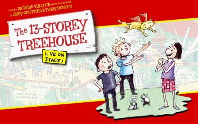The 13-Storey Treehouse Live On Stage