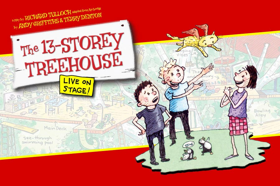 13 storey treehouse live on stage adelaide