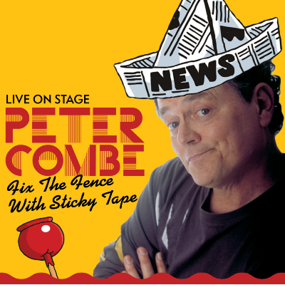 Peter Combe live on stage