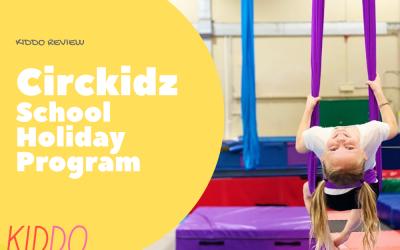 REVIEW: Cirkidz School Holiday Program