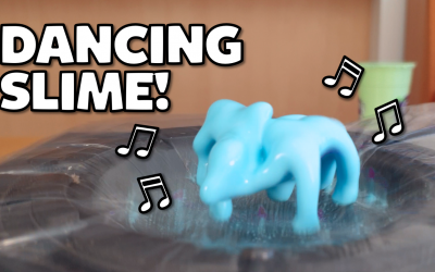 Silly Science with Simon: How to make oobleck that dances and glows in the dark