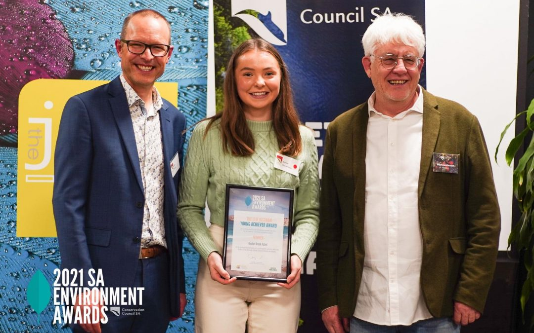 16 year old environmental activist Amber Brock-Fabel wins Young Achiever of the Year Award