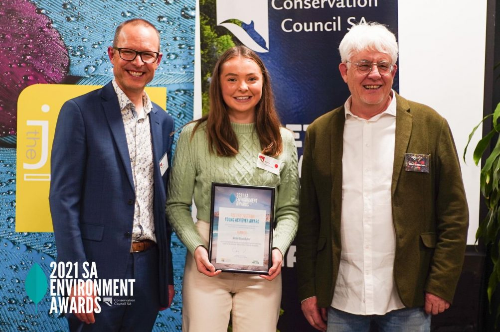 Amber Brock-Fabel Young Achiever of the Year