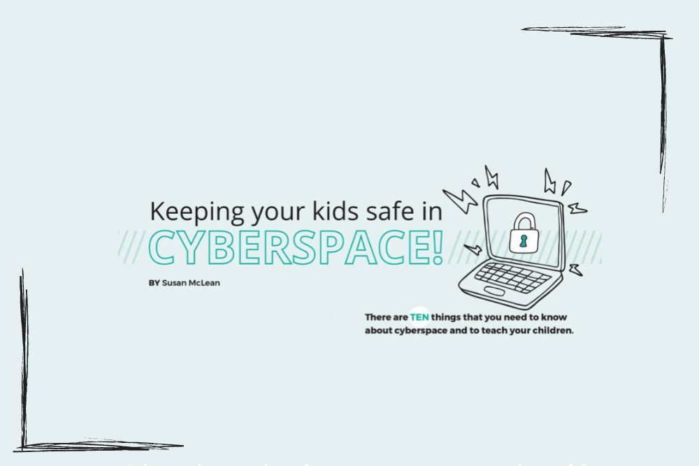 keeping your kids safe in cyberspace