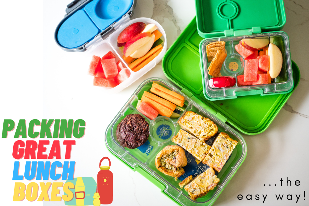 Packing great lunchboxes the easy way!