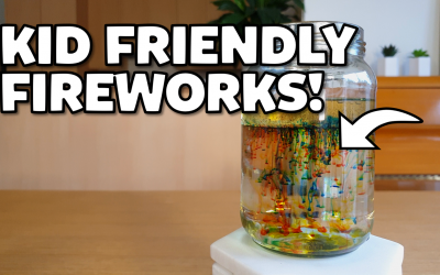 Silly Science with Simon: ULTIMATE GUIDE TO FIREWORKS IN A JAR!