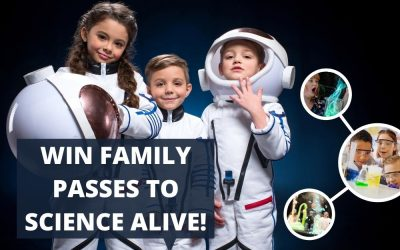 WIN: 1 of 5 Family Passes to Science Alive