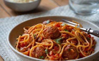 RECIPE: Meatballs & Spaghetti