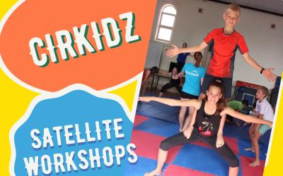 Cirkidz Satellite Workshops