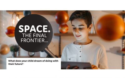 Kid sized career ambitions: Space. The Final Frontier.