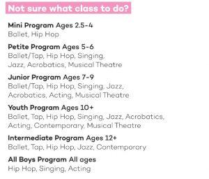 star dance classes