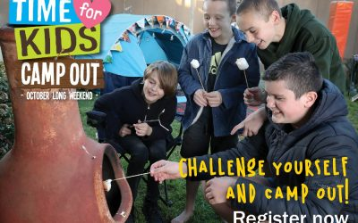 Camp Out for a cause with 'Time for Kids' Camp Out