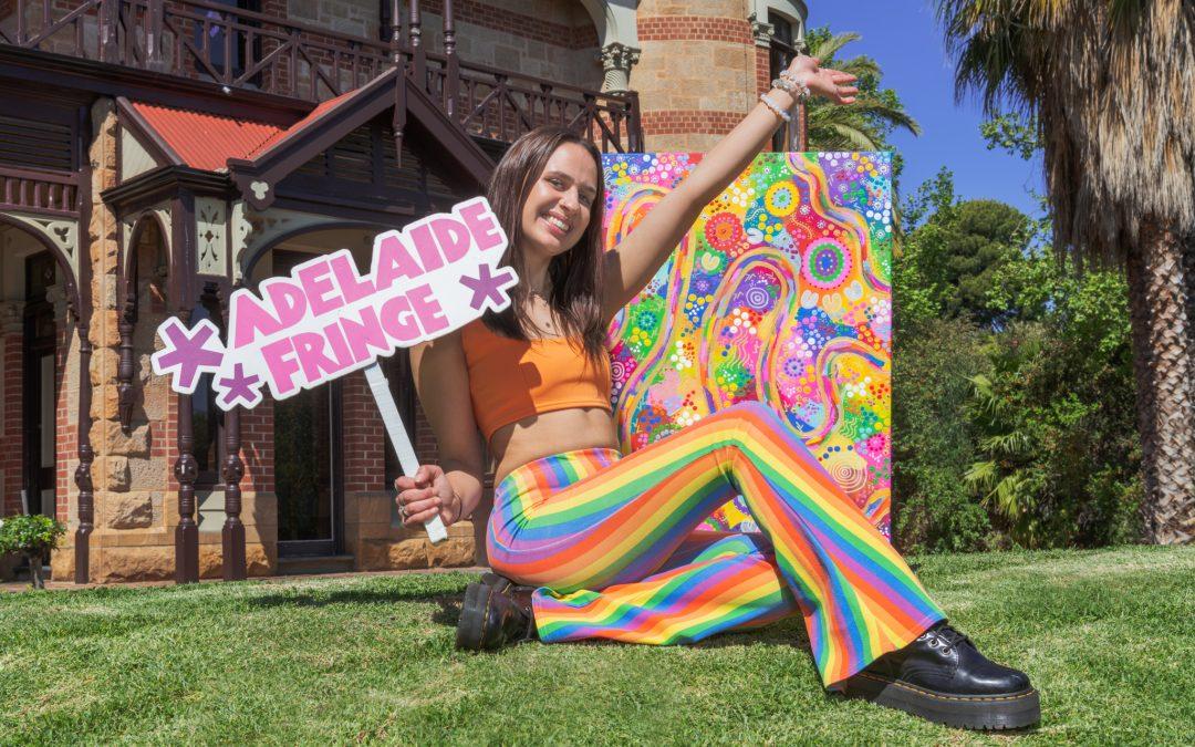 Whimsical world of Adelaide Fringe captured in the winning poster design for 2022!