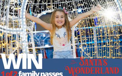 WIN: 1 of 2 family passes to Santa's Wonderland
