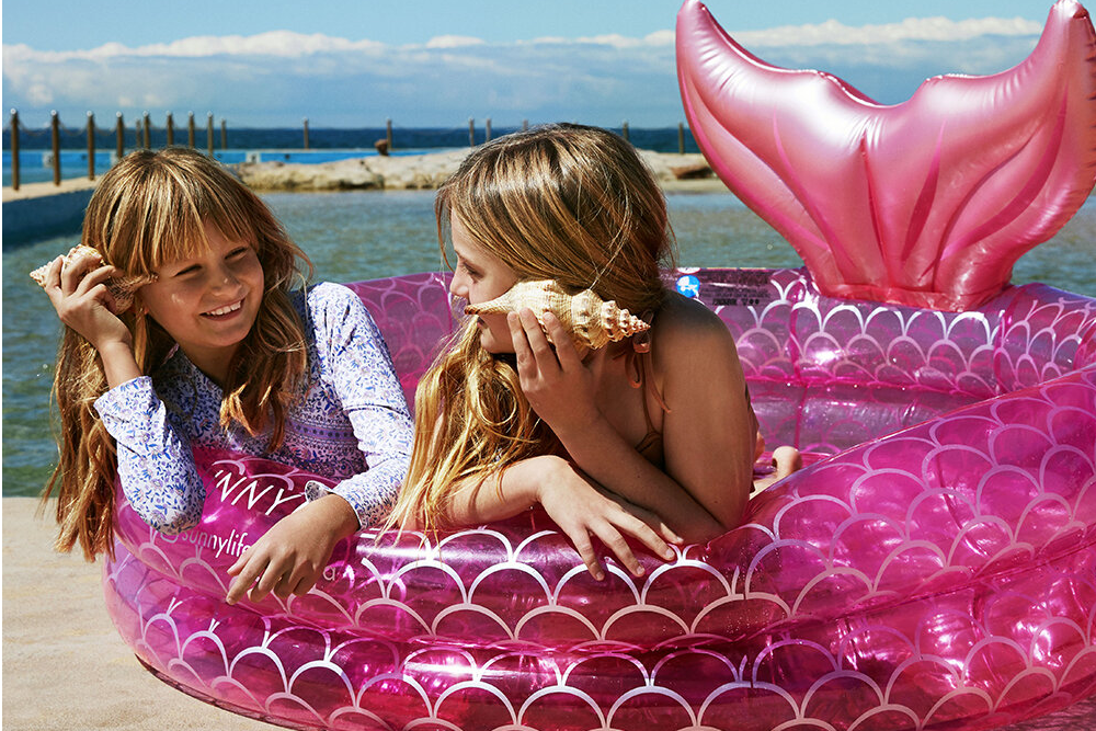 sunnylife amara mermaid pool