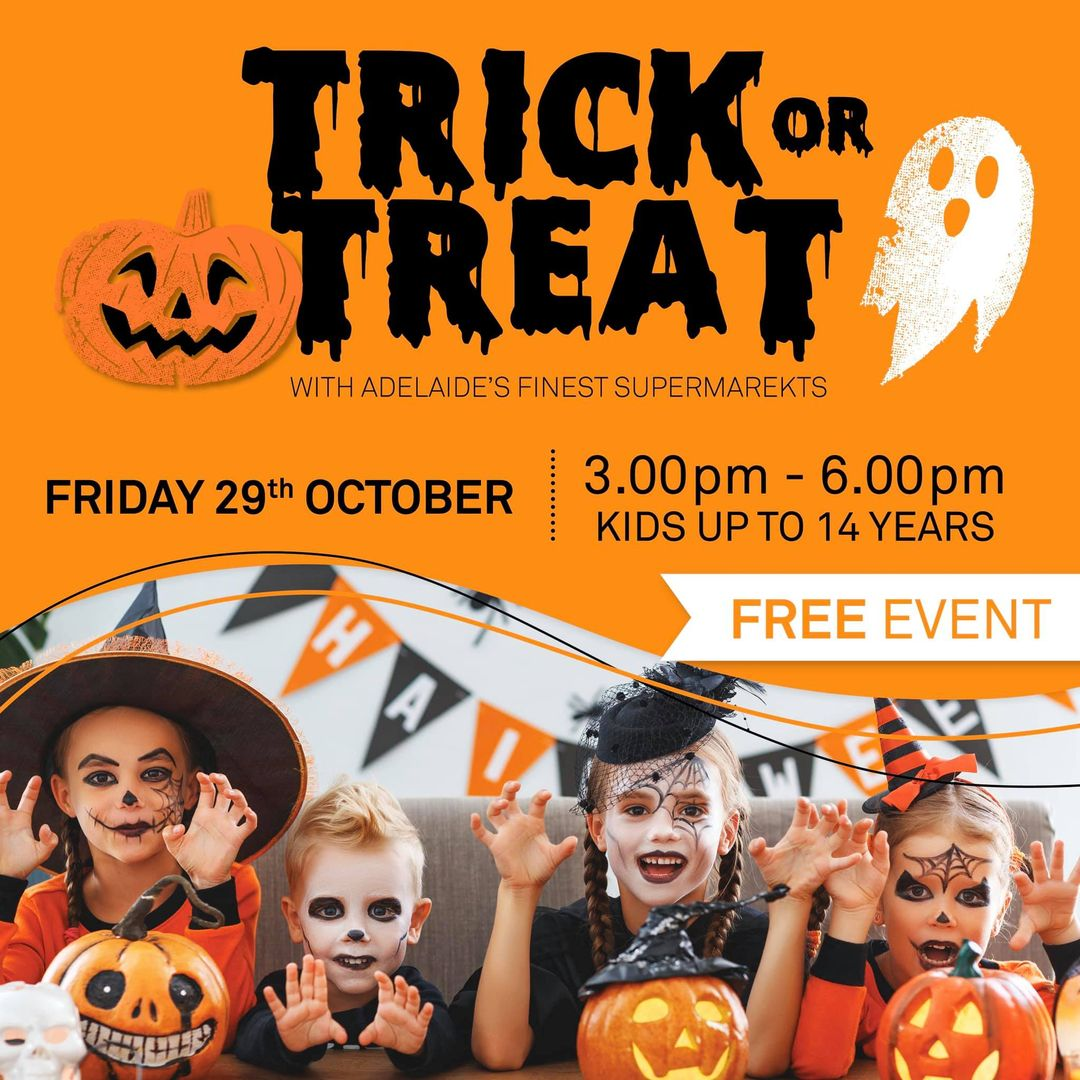 trick or treat at frewville foodland